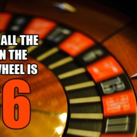 "The sum of all the numbers on the roulette wheel is 666, the ""Number of the Beast"" - Useless Fact"