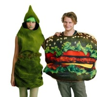 A Halloween Whopper and Green Poop couples' costume!