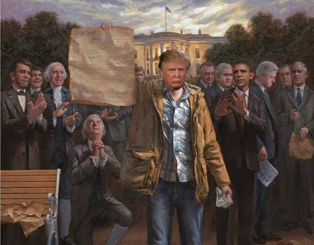 rr trump banner