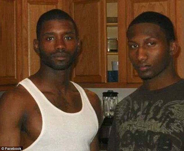 Arrested: Jonas (left) and Hasan Edmonds (right) were heldd by members of the Chicago FBI's Joint Terrorism Task Force. Hasan was a member of the National Guard