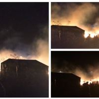 BREAKING: Refugee Camps in France Burning (Video)