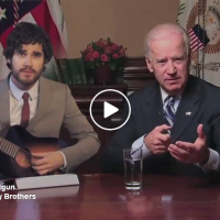 Double-Barreled Shotgun - Joe Biden and Darrin Cross Live From The White House...