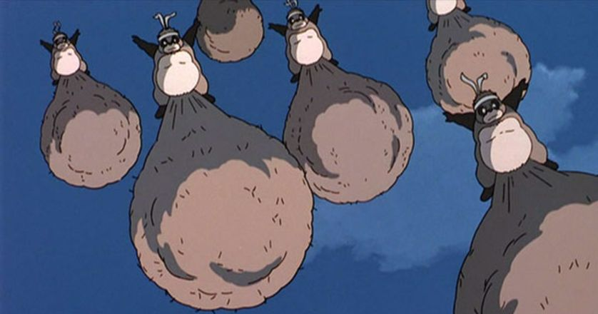 A screencap from Studio Ghibli's 'Pom Poko'