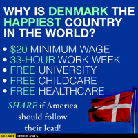 Fact Checking Occupy Democrats: Denmark