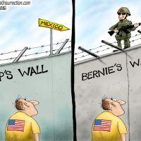 Bernie Sanders |Building Walls |A.F. Branco