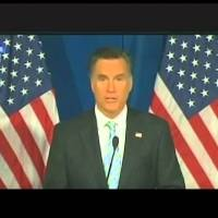 Mitt Romney Praises Donald Trump (Video)