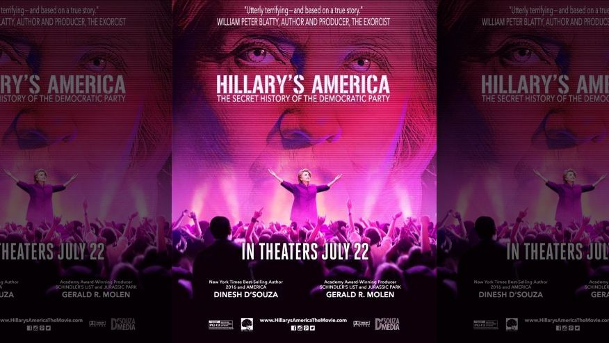 """Topeka Stadium 14 Theater: """"Hillary's America: The Secret History of the Democratic Party!"""" {VIDEO}"""