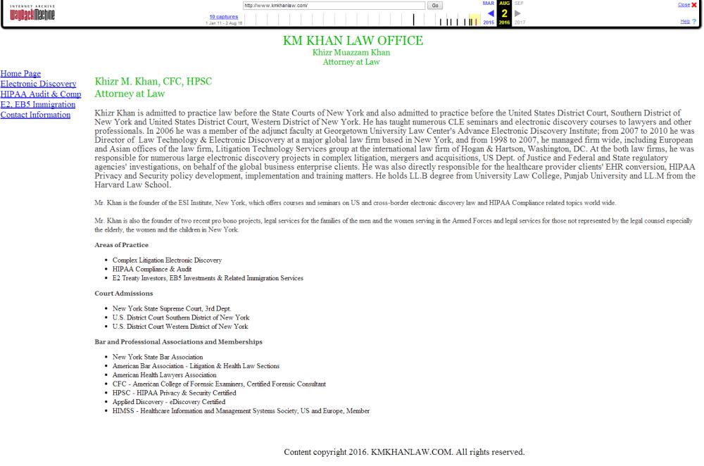 Kahn site