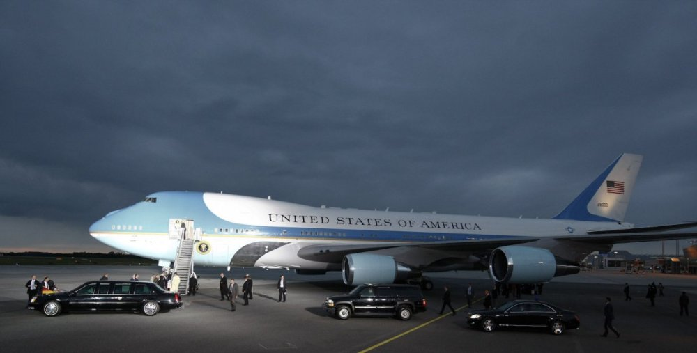 At the same time, nothing in the sky is quite like Air Force One.