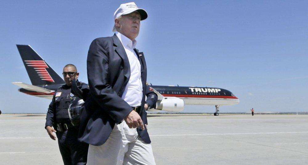 Though President Trump may be the jet's current owner, he wasn't its first.