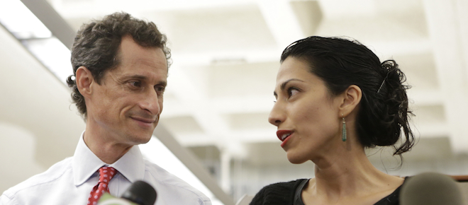 Image result for anthony weiner huma abedin