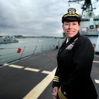 Woman Commands One of the Navy Ships that Fired Missiles Into Syria -VIDEO