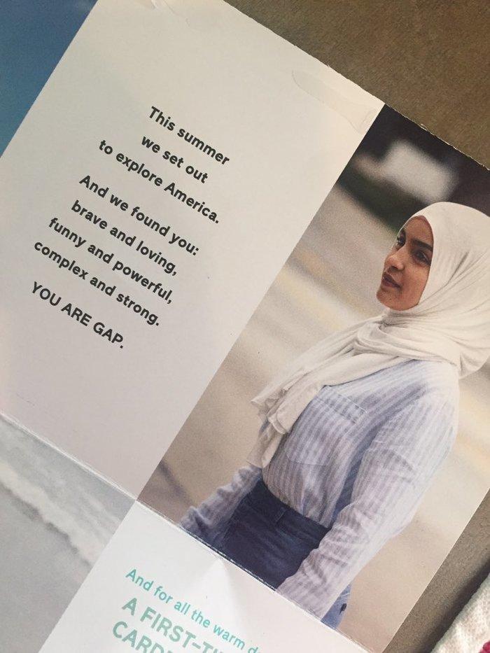 The GAP Features Hijab in Their 2017 Campaign – #CloseTheGAP #BoycottGAP