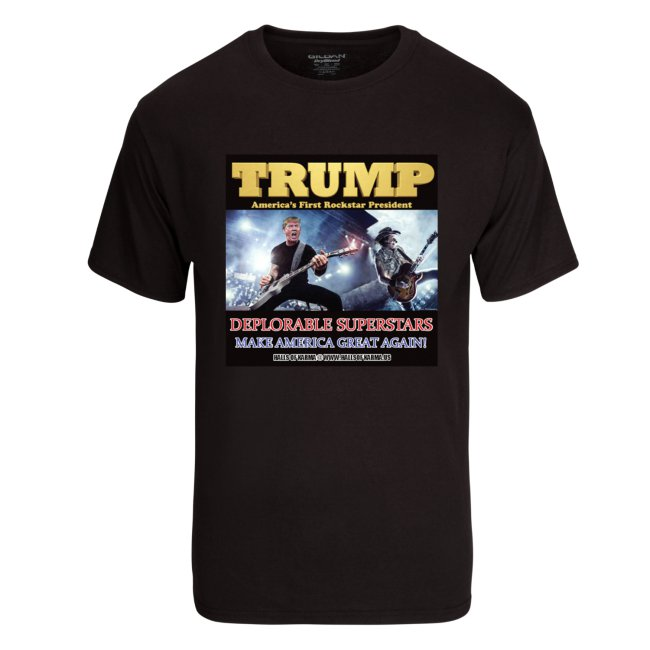 TRUMP Deplorable Superstars T-Shirt – Special Edition!