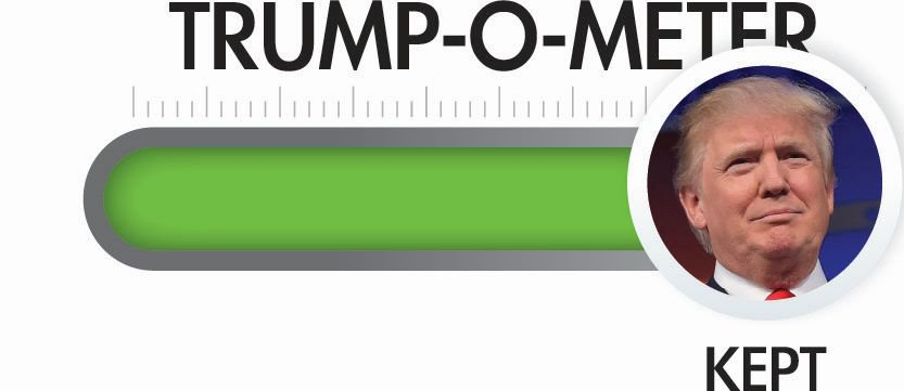Trump-O-Meter: Many Campaign Promises Kept Despite Liberal and RINO Obstruction – PolitiFact