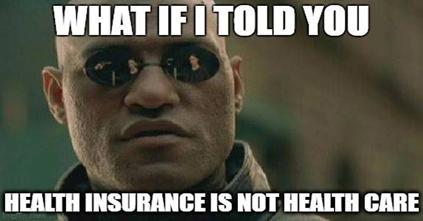 Inexpensive Healthcare Without The Government or Insurance Companies Messing Things Up or Ripping You Off! Come Take The Red Pill…